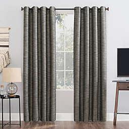 Sun Zero® Rhett 96-Inch Grommet Window Curtain Panel in Coal (Single)