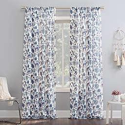 No.918® Sarita 63-Inch Rod Pocket Window Curtain Panel in Fig