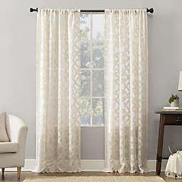 No.918® Yvette Rod Pocket Window Curtain Panel (Single)