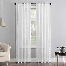 No. 918® Tamaryn 84-Inch Window Curtain Panel in White
