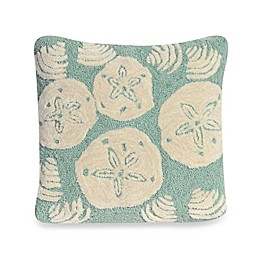 Liora Manne Frontporch Shell Toss Square Throw Pillow