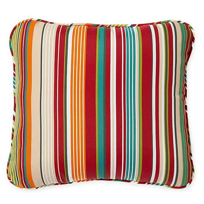 Alternate image 1 for Stripe Outdoor Deep Seat Back Cushion