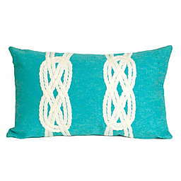 Liora Manné Double Knot Oblong Indoor/Outdoor Throw Pillow
