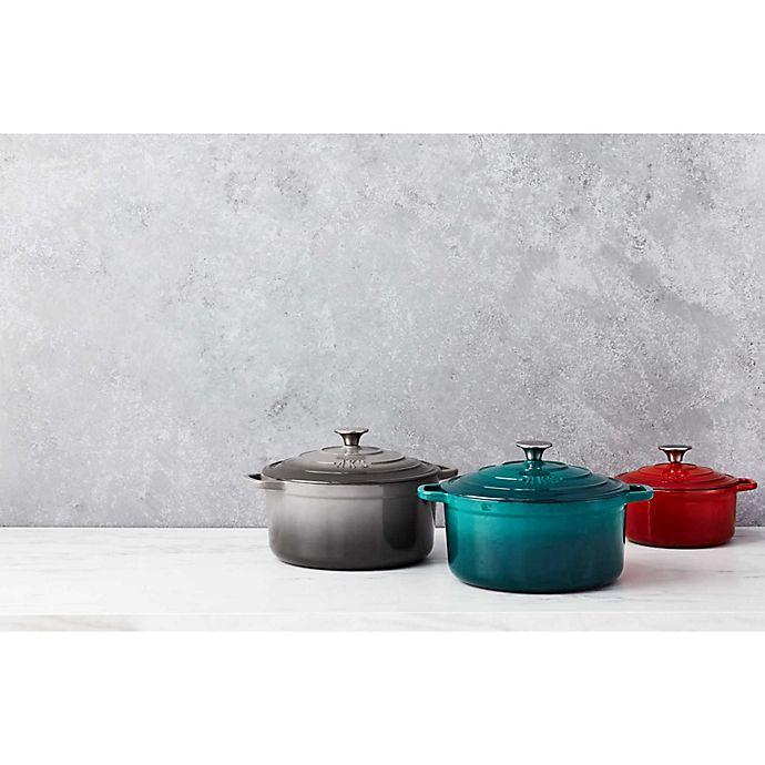 Alternate image 1 for Artisanal Kitchen Supply® Enameled Cast Iron Dutch Oven