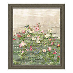 PTM Images® Tender Florals 24-Inch x 22-Inch Framed Wall Art in Green
