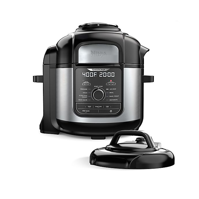 Alternate image 1 for Ninja® Foodi™ 8-qt. 9-in-1 Deluxe XL Pressure Cooker & Air Fryer
