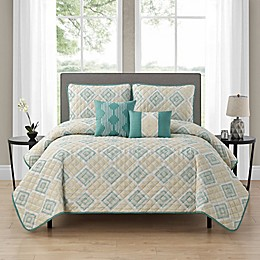 Falconaire 5-Piece Reversible Quilt Set