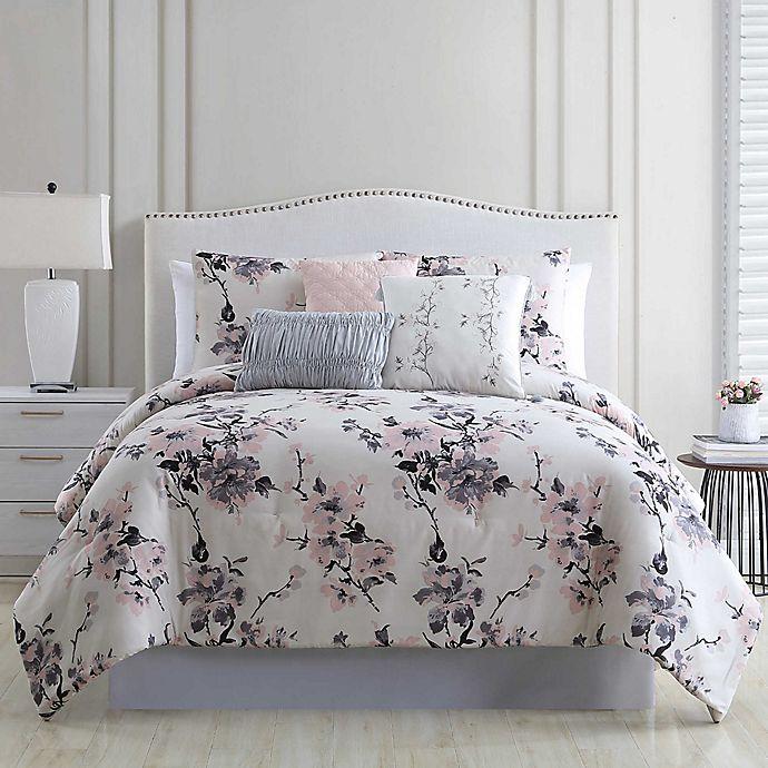 Alternate image 1 for Gloria Vanderbilt Genevieve 6-Piece Comforter Set