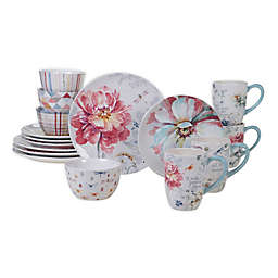 Certified International Spring Bouquet 16-Piece Dinnerware Set