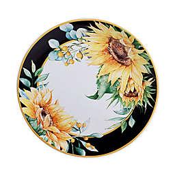 Certified International Sunflower Fields Dinner Plates (Set of 4)