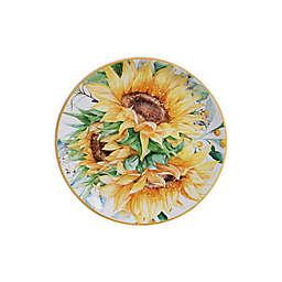Certified International Sunflower Fields Salad Plates (Set of 4)