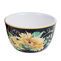 Certified International Sunflower Fields Ice Cream Bowls (Set of 4)