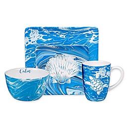 Certified International Fluidity Coastal Dinnerware Collection