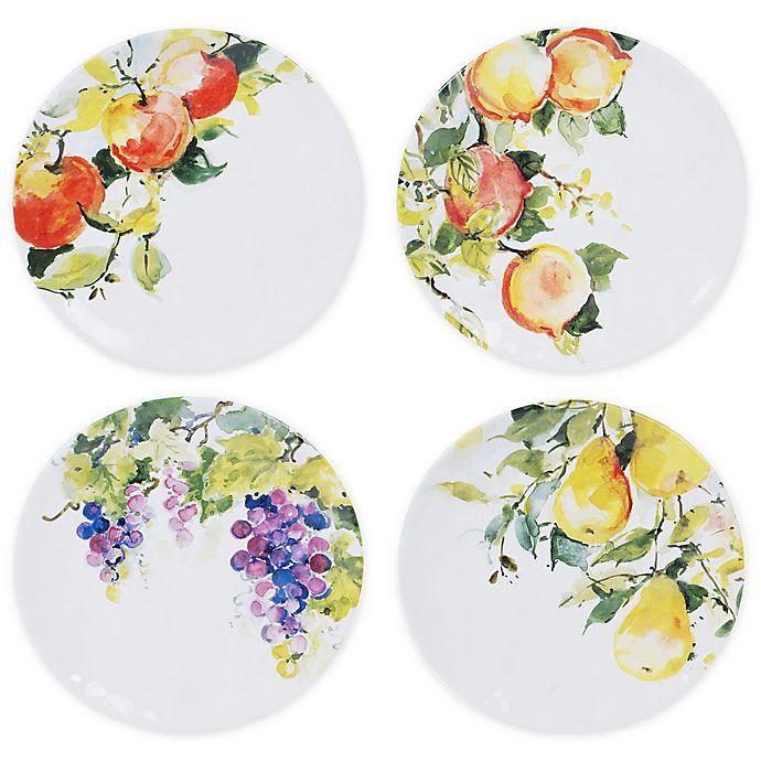 Alternate image 1 for Certified International Ambrosia Salad Plates (Set of 4)