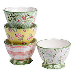 Certified International English Garden Ice Cream Bowls (Set of 4)
