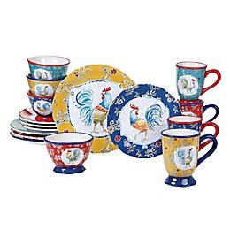 Certified International Morning Bloom 16-Piece Dinnerware Set