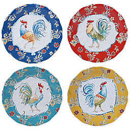 Certified International Morning Bloom Dinner Plates (Set of 4)
