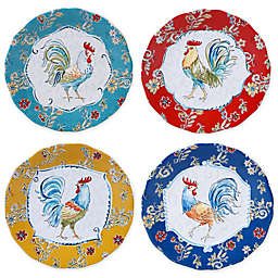 Certified International Morning Bloom Salad Plates (Set of 4)