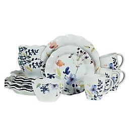 Fitz and Floyd® Floral Splash 16-Piece Dinnerware Set
