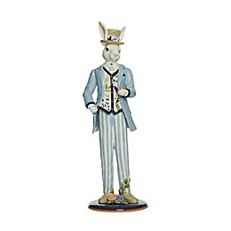 Fitz and Floyd® Floral Splash Male Rabbit Figurine