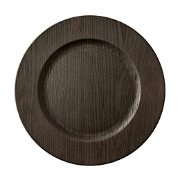 Bee & Willow™ Home Charger Plate in Walnut