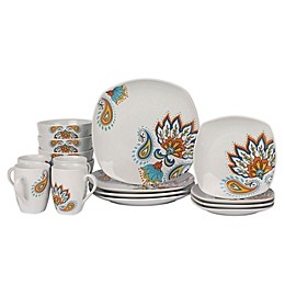 Tabletops Gallery® Andria 16-Piece Square Dinnerware Set