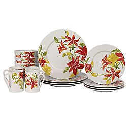 Tabletops Gallery® Jadin 16-Piece Dinnerware Set