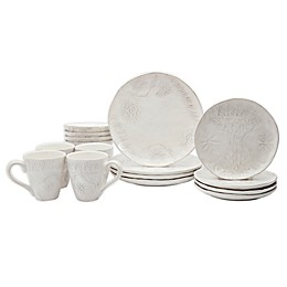 Tabletops Gallery® Isabella 16-Piece Dinnerware Set
