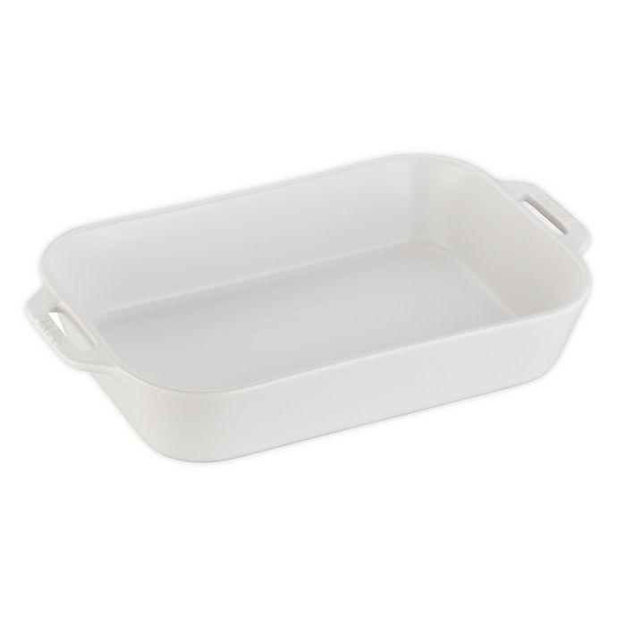 Alternate image 1 for Staub 13-Inch x 9-Inch Rectangular Baking Dish