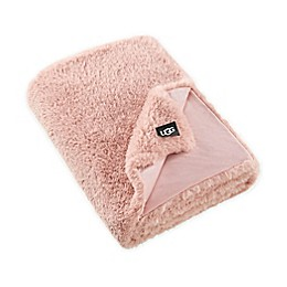 UGG® Aussie Textured Faux Fur Reversible Throw Blanket
