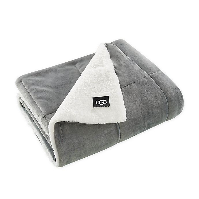 Alternate image 1 for UGG® Avery Quilted Throw Blanket