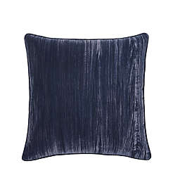Tracy Porter® Crinkle Velvet European Throw Pillow in Indigo
