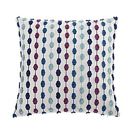 Tracy Porter® Darling Square Throw Pillow in Blue/Purple