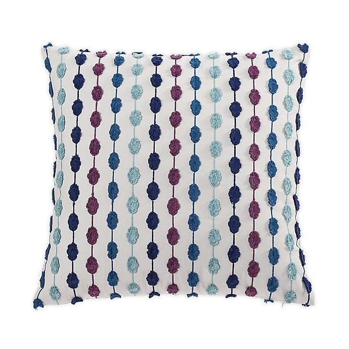 Alternate image 1 for Tracy Porter® Darling Square Throw Pillow in Blue/Purple
