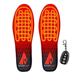ActionHeat™ Small/Medium Rechargeable Heated Insoles with Remote