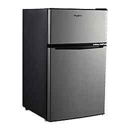 Whirlpool® 3.1 cu. ft. Stainless Steel Dual Door Refrigerator