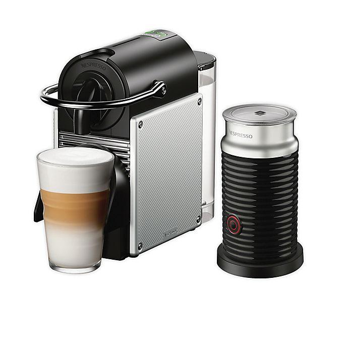 Alternate image 1 for Nespresso Pixie Espresso Machine by De'Longhi with Aeroccino