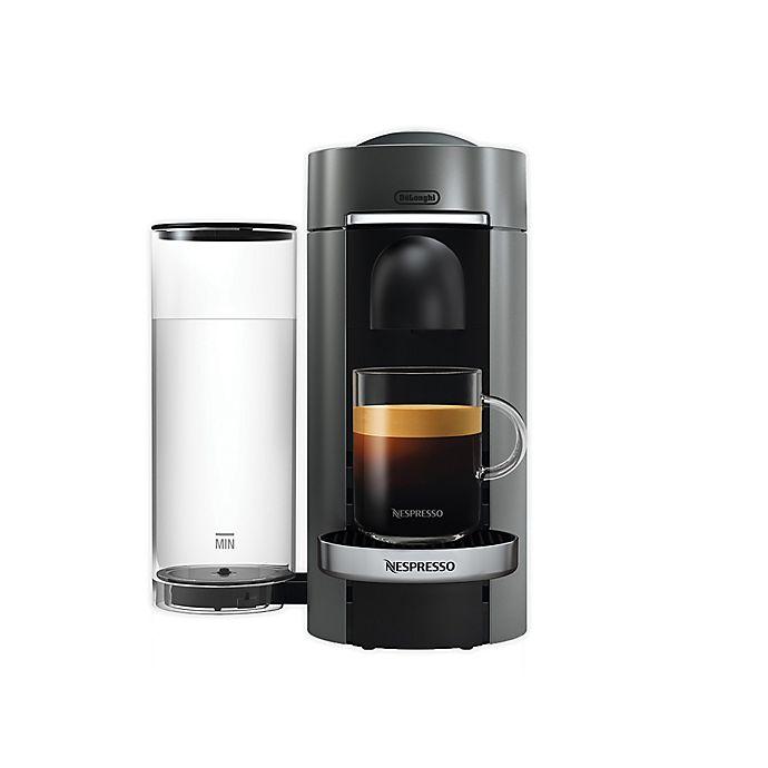 Alternate image 1 for Nespresso VertuoPlus Deluxe Coffee & Espresso Maker by De'Longhi