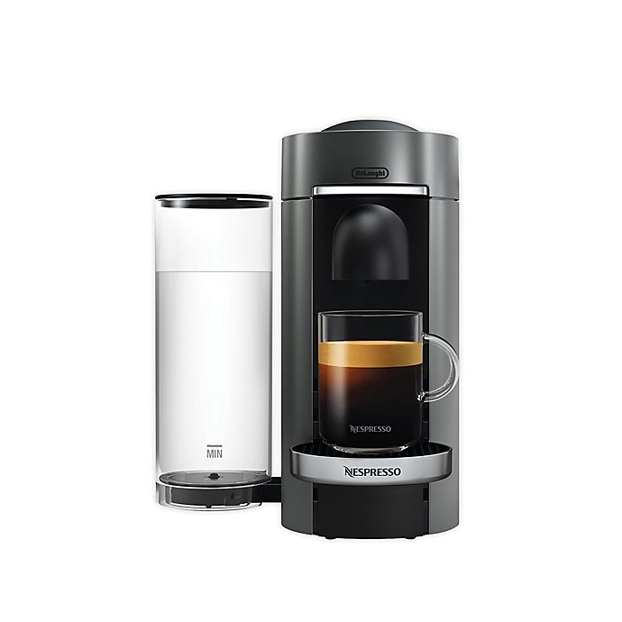 Alternate image 1 for Nespresso VertuoPlus Deluxe Coffee & Espresso Maker by De'Longhi with Aeroccino