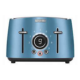 Sencor® 4-Slice Toaster with Rack in Blue