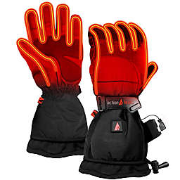 ActionHeat™ Men's Small 5V Battery Heated Snow Gloves in Black