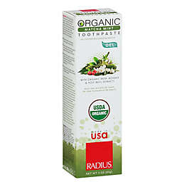 Radius® 3 oz. Organic Gel Toothpaste in Matcha Mint