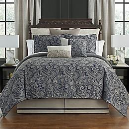 Waterford® Danehill 4-Piece Comforter Set in Blue
