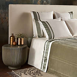 Frette At Home Realmonte King Coverlet in Sage