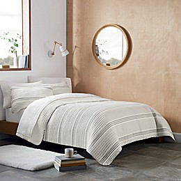 UGG® Devon Stripe 3-Piece Quilt Set in Seal