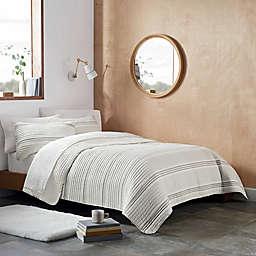 UGG® Devon Stripe 2-Piece Twin/Twin XL Quilt Set in Seal
