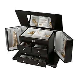 Mele & Co. Ellington Wooden Jewelry Box In Mahogany