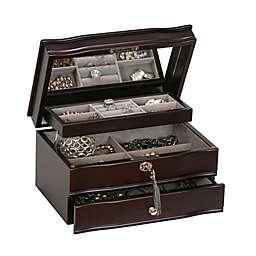Mele & Co. Dav in a Mahogany Jewelry Box
