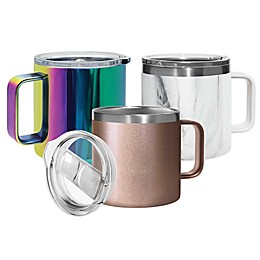 Oggi™ Stainless Steel Mug with Lid