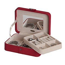 Mele & Co. Giana Jewelry Box in Red